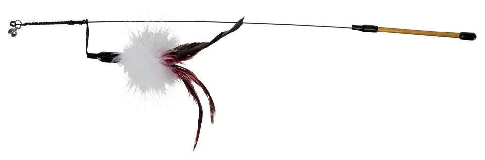 Trixie Playing Rod with Feather 50 cm