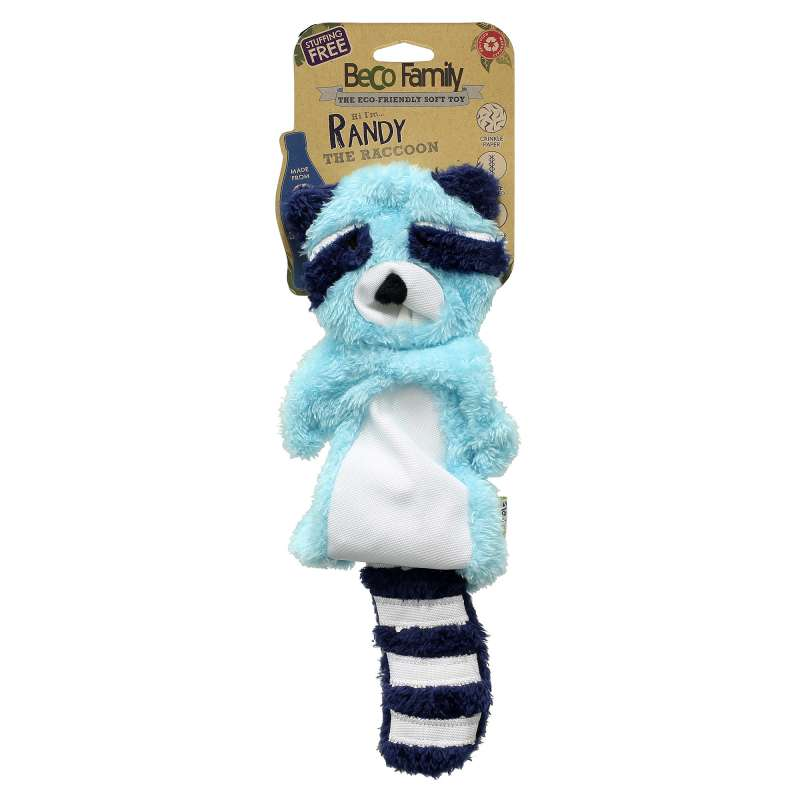 BeCo Pets Randy the Racoon ohne Füllung Randy the Racoon  M