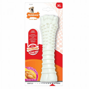 Chicken Extreme Textured Bone, X-Large Hvid