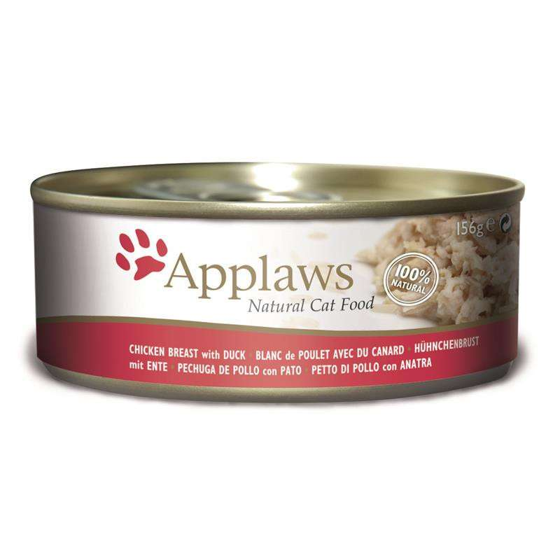 Applaws Natural Cat Food Chicken with Duck 156 g 5060122490405 anmeldelser