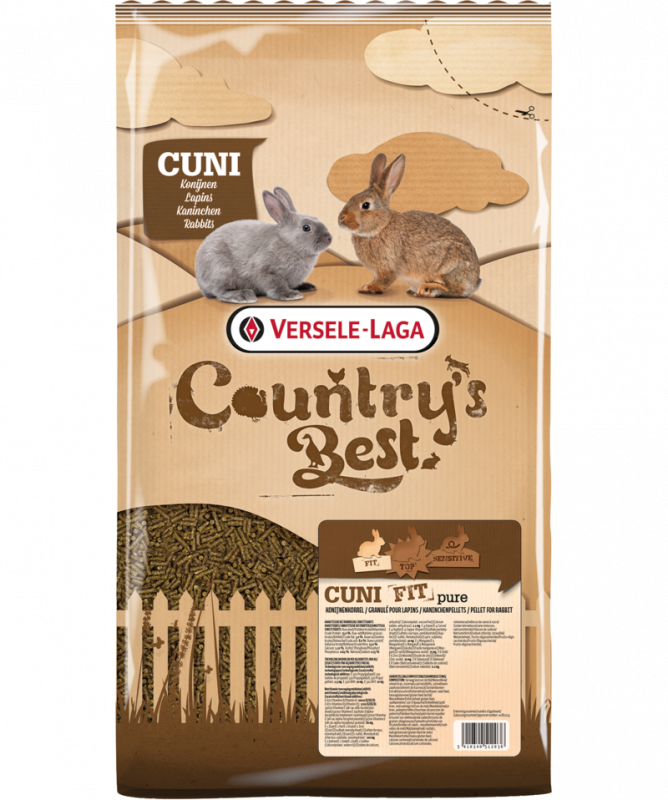 Versele Laga Country's Best Cuni Fit Pure 5 kg, 20 kg osta edullisesti