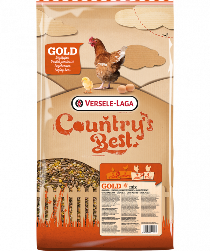 Versele Laga Country's Best Gold 4 MIX 20 kg 5410340510117