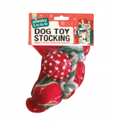 Good Boy Dog Toy Stocking 15 cm
