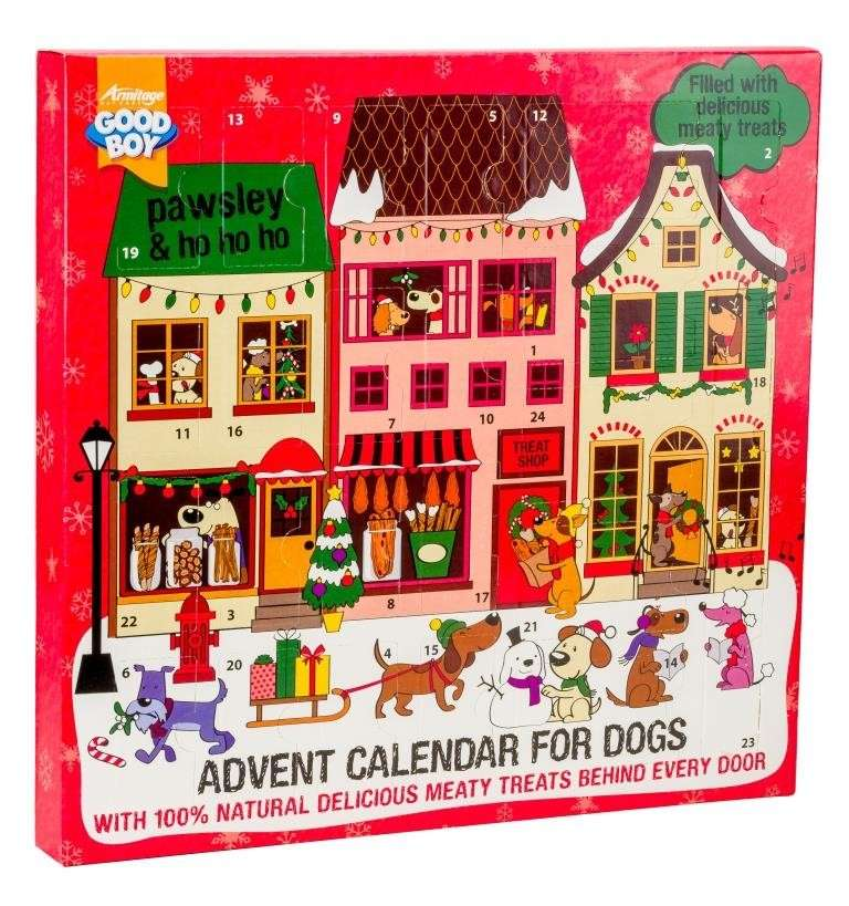 Armitage Pet Care Good Boy Dog Meaty Treats Calendrier de l'Avent