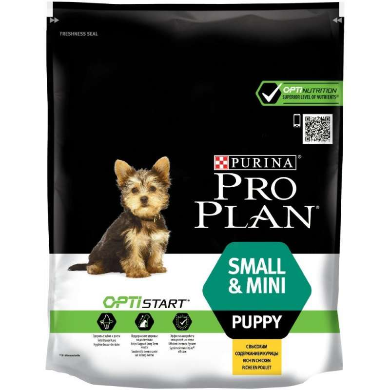 Purina Pro Plan Small & Mini Puppy - Optistart rijk aan kip Kip