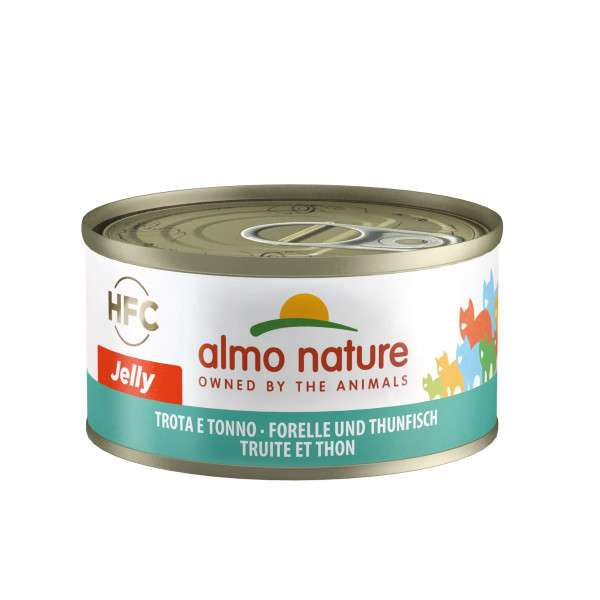 Almo Nature Jelly Ørred og Tun 70 g