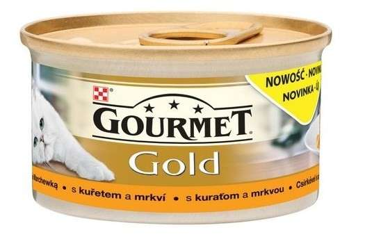 purina gourmet gold savoury cake mit lamm und gr nen bohnen 85 g katzen nassfutter. Black Bedroom Furniture Sets. Home Design Ideas