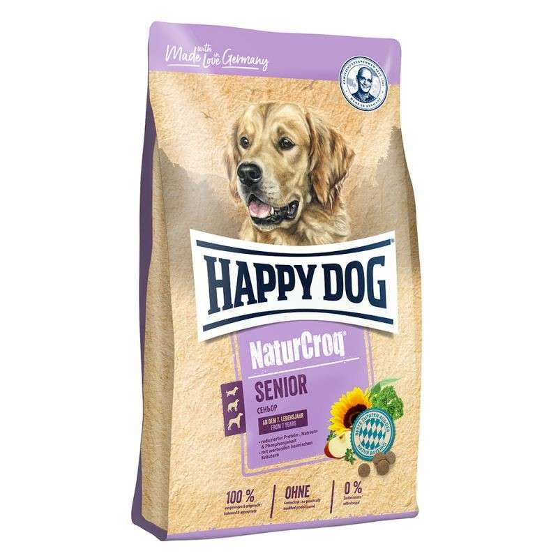 Happy Dog NaturCroq Senior 4 kg, 15 kg köp billiga på nätet