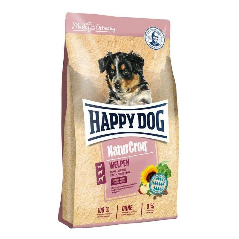 Happy Dog NaturCroq Chiots 4 kg, 15 kg, 1 kg