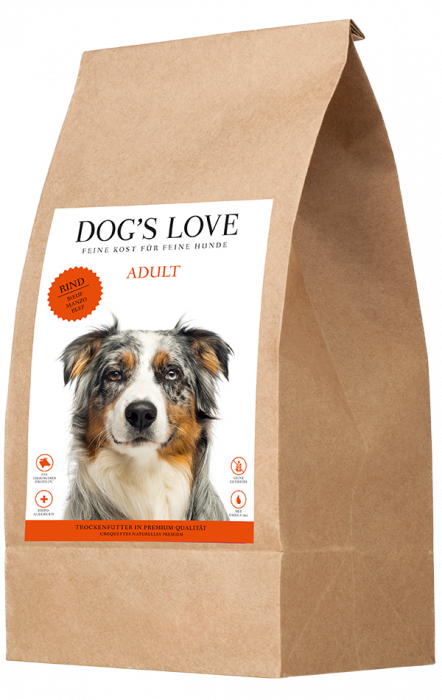Dog's Love Beef with Sweet Potato and Carrots 12 kg