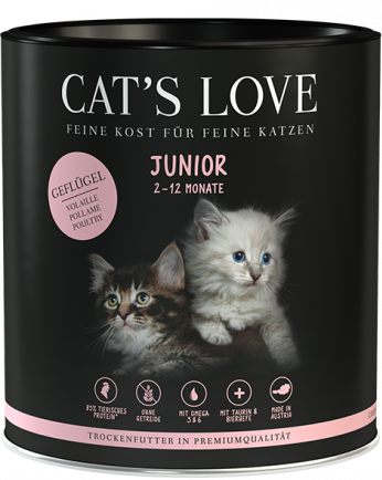 Cat's Love Junior Poultry Siipikarja