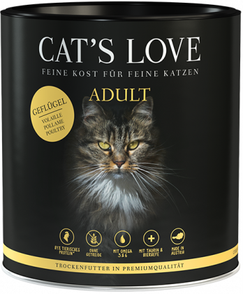 Cat's Love Adult Volaille 400 g