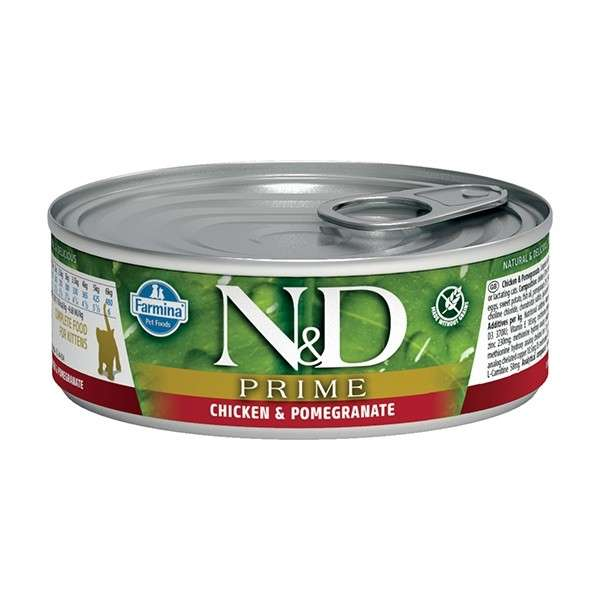 Farmina N&D Grain Free Prime Kitten with Chicken and Pomegranate Paino 80 g