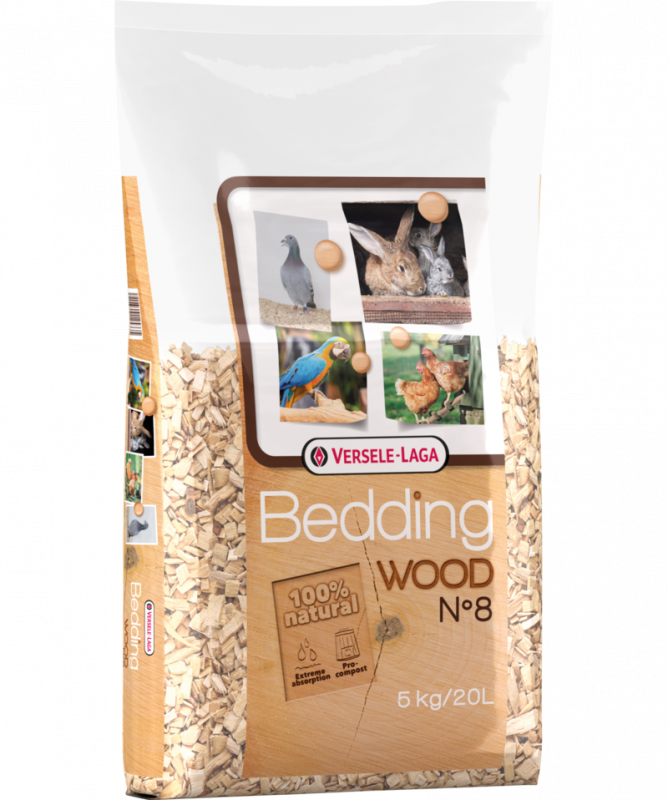 Versele Laga Wood Bedding №8  5 kg