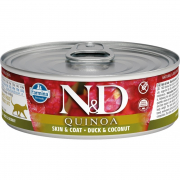 Farmina N&D Quinoa Skin and Coat, Duck and Coconut 80 g