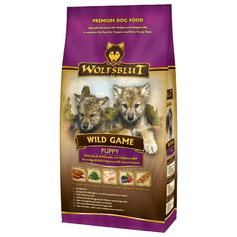 Wolfsblut Wild Game Puppy 500 g, 2 kg, 15 kg test