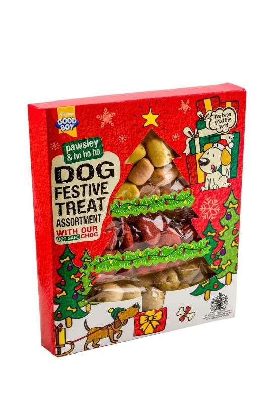 Armitage Pet Care Good Boy Festive Treat Assortment 185 g 5000239102792 erfaringer