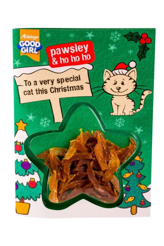 Armitage Pet Care Good Girl Chicken Meaty Treats Christmas Card  5000239106189 anmeldelser