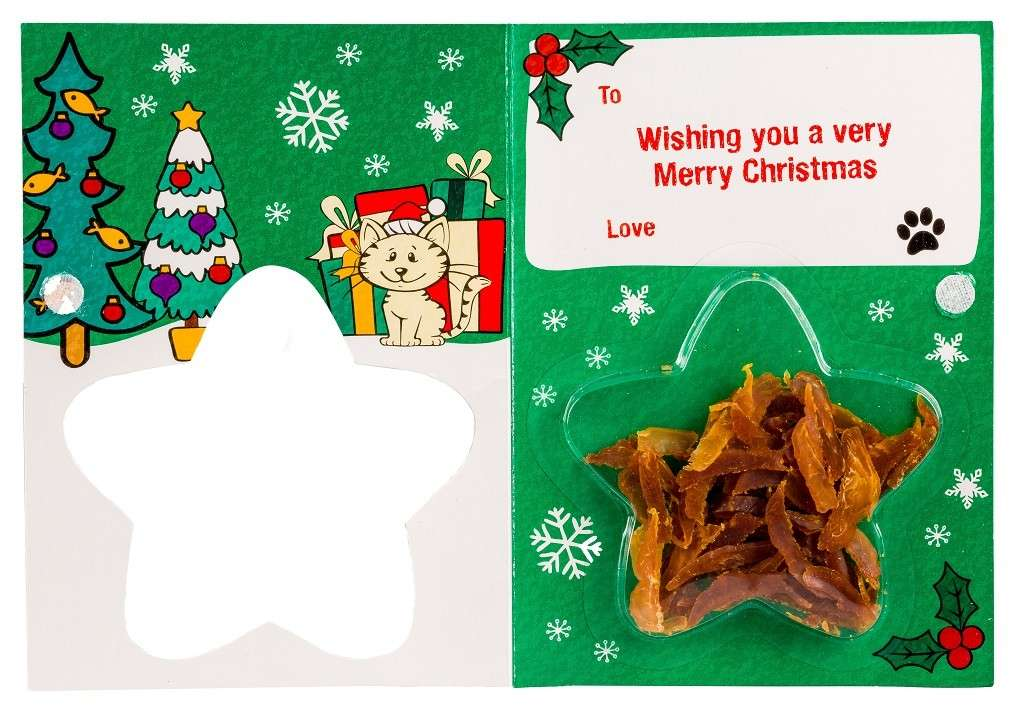 Armitage Pet Care Good Girl Chicken Meaty Treats Christmas Card test