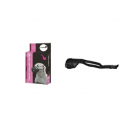 Muzzle Universal/Adjustable with Mesh 12-24 cm