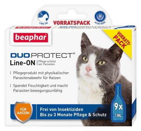 Beaphar Duoprotect Line-ON per gatti  9x1 ml