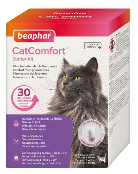 CatComfort Starter-Kit 48 ml  von Beaphar bei Zoobio.at