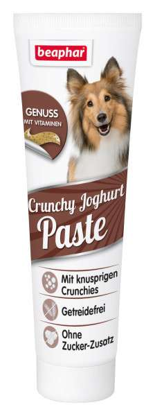 Beaphar Crunchy Yoghurt Paste for Dogs 100 g