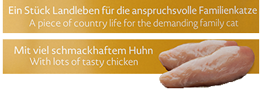 Meracat Country Taste mit Huhn 85 g Test
