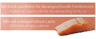 Meracat Country Taste with Salmon 85 g