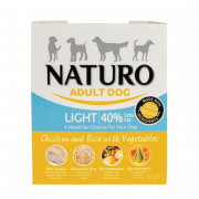 Naturo Adult Light Chicken & Rice with Vegetables 400 g