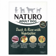 Naturo Adult Duck & Rice with Vegetables 150 g