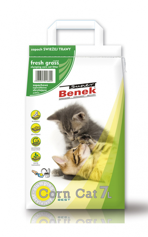 Super Benek Corn Fresh Grass EAN: 5905397016809 reviews