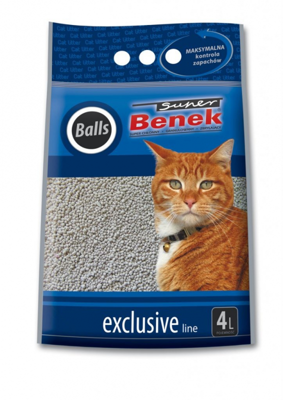 Super Benek Exclusive Balls 4 l