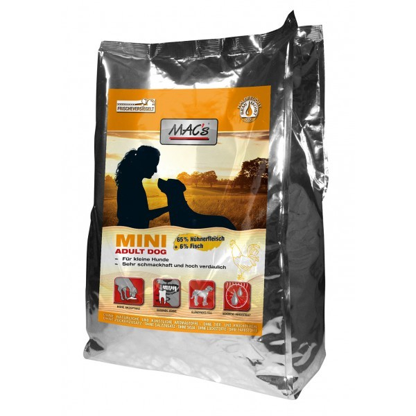 MAC's Soft Mini Adult with Chicken 230 g, 1.5 kg, 3x5 kg, 5 kg