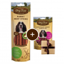 Dog Fest Rabbit Meat Sticks + Gift: Duck Fillet Strips Art.-Nr.: 90635