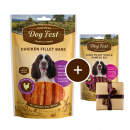 Dog Fest Chicken Fillet Bars + Gift: Duck Fillet Strips Art.-Nr.: 90631