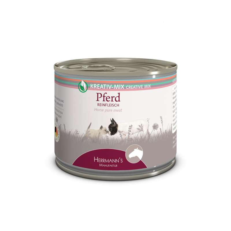 Herrmann's  Creative-Mix Horse Pure Meat, canned 200 g