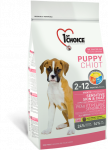 1st Choice Puppy Sensitive Skin & Coat com Cordeiro, Peixe e Arroz 14 kg