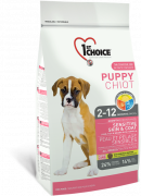 1st Choice Puppy Sensitive Skin & Coat con Cordero, Pescado y Arroz Integral 14 kg