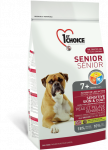 1st Choice Senior Sensitive Skin & Coat mit Lamm, Fisch und Reis 12 kg