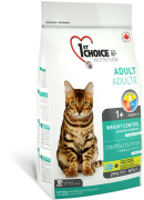 1stChoice Adult Weight Control Kanapohjainen 5.44 kg