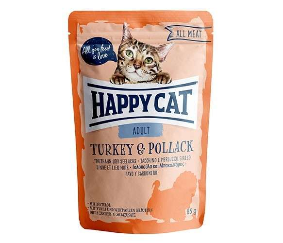 Happy Cat All Meat Adult Turkey & Pollock 85 g