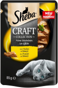 Sheba Craft Collection fine Slices with Chicken in Gravy 85 g