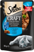 Sheba Craft Collection delicate Slices with Tuna in Gravy 85 g