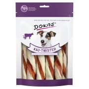 Dokas Chew Twisters with Cowhide, Duck Heart and Duck Breast 200 g