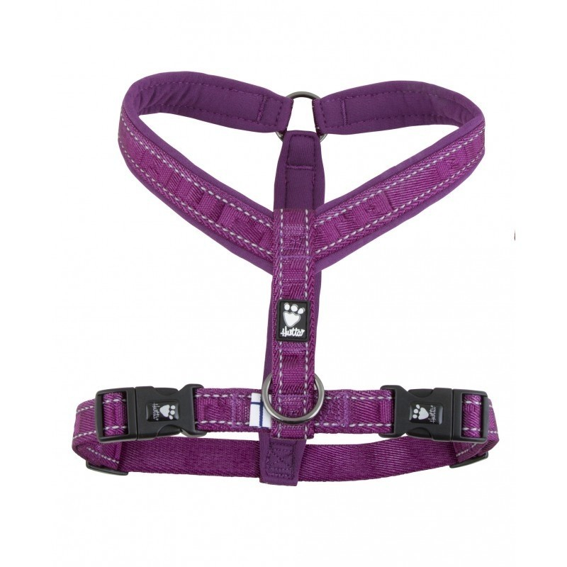 Hurtta Casual Y-Hundegeschirr  Purpur 70 cm