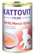 Kattovit Feline Diet Kidney/Renal Drink 135 ml