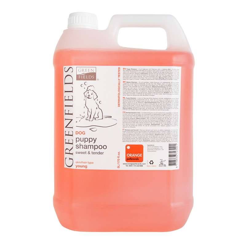 Greenfields Puppy Shampoo 5 l, 250 ml