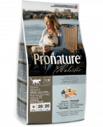 PronatureHolistic Adult Indoor - Skin & Coat with Atlantic Salmon & brown Rice 5.44 kg Cat food