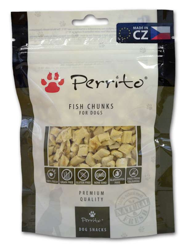 Perrito Fish Chunks 100 g